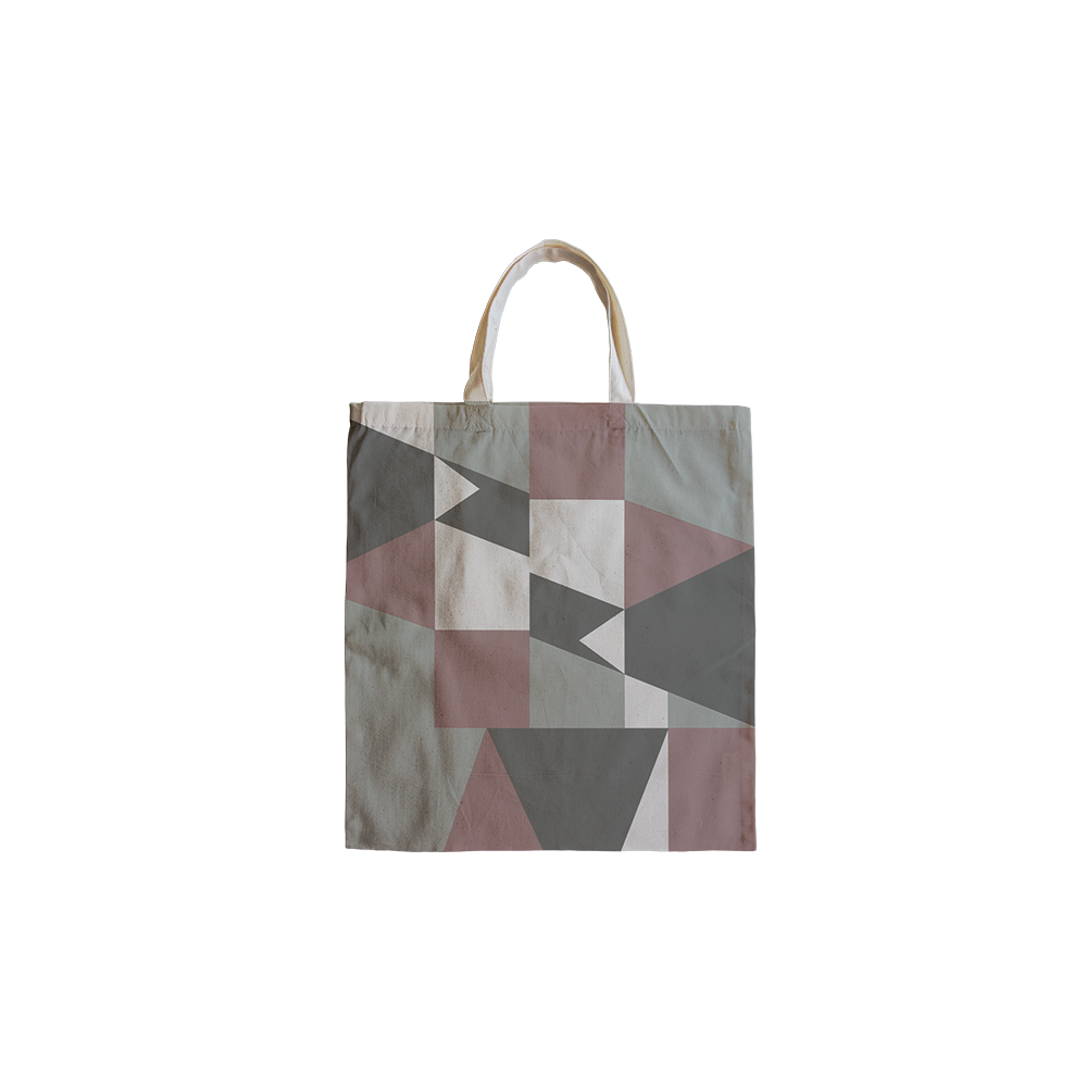 Tote bag free identity design for interior designer