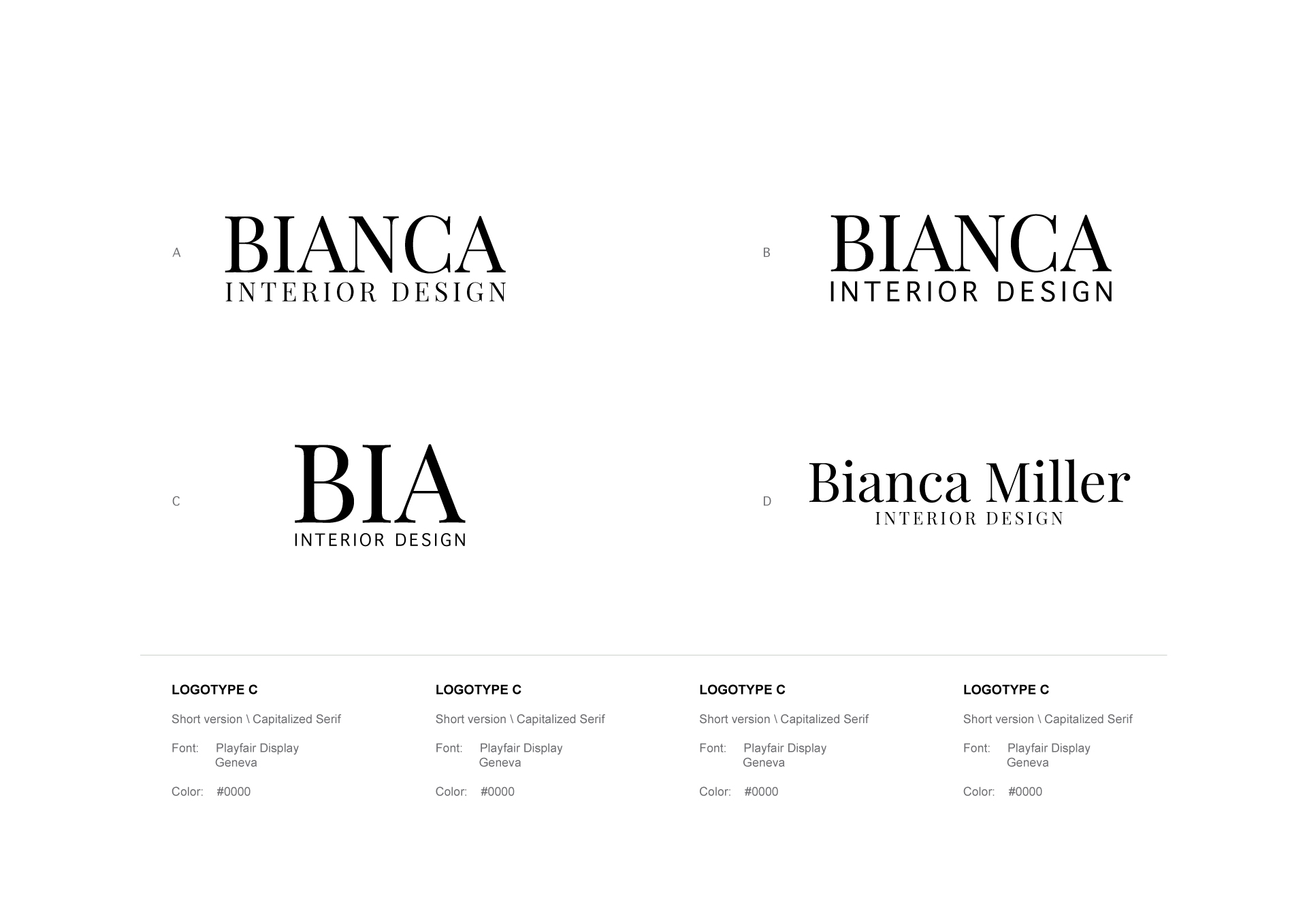 Free Logo for Interior designer free download