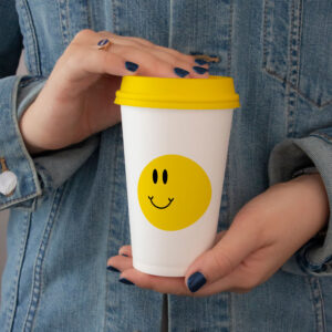 Free paper cup mockup psd